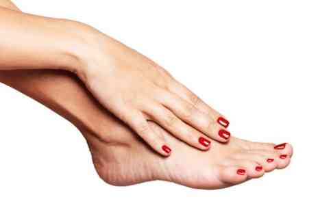 The Beauty Spot - Shellac manicure & Shellac pedicure - Save 0%