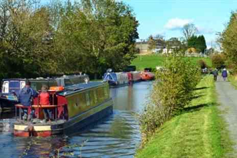 Lancashire Canal Cruises -  Canal Barge Cruise for 2 with Cheese & Wine  - Save 51%