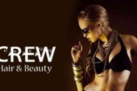 Crew Hair & Beauty - Three Full Body Spray Tans - Save 63%
