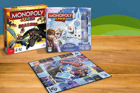 Spectrum World  - Themed Junior Monopoly board game - Save 40%