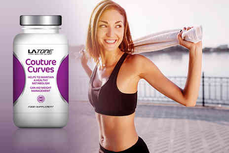 LA Muscle - 60 capsules supply of Couture Curves weight management capsules - Save 50%