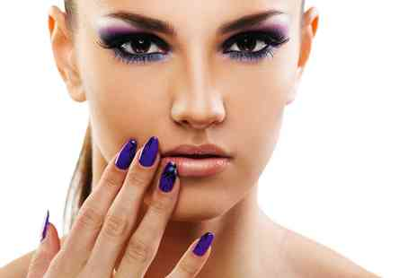 Priority Hair Salon - Deluxe Manicure or Pedicure - Save 88%