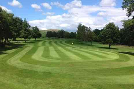 Glynhir Golf Club - 18 Holes of Golf For Two  With Hot Drink   - Save 57%