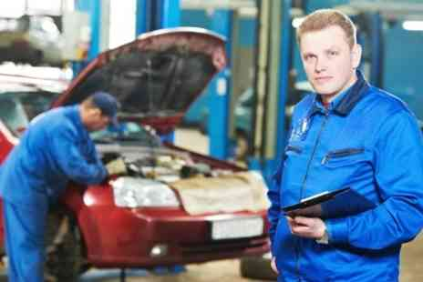 Darlington MOT Centre  - Car Air Conditioning Service With Re Gas   - Save 53%