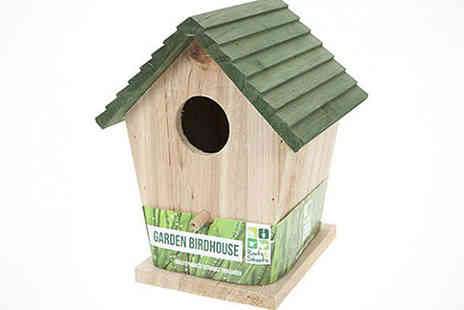 Kitchen Gadgets - Wooden Garden Wildlife Houses  - Save 70%