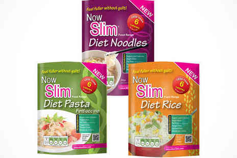 nowslim - Now Slim Rice, Pasta, and Noodle, Including Five Fettuccine Pasta, Ten Noodle, and Five Rice  - Save 68%
