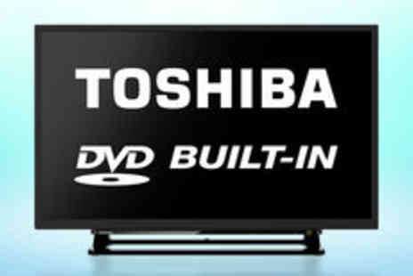 "Electrical Experience - Toshiba 32D1533DB 32"" TV with built in DVD  FREE delivery - Save 0%"