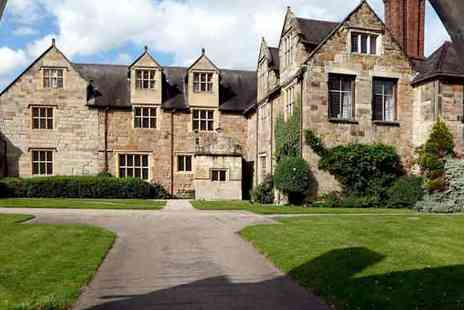 Great Little Breaks - One night Shropshire Manor Dining Break - Save 35%