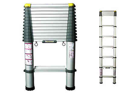 homewith bargains - 3.2m Telescopic Ladder - Save 72%
