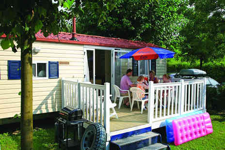 Canvas Holidays - Seven night self catered break in a 2 bed mobile home for up to 6 people - Save 31%