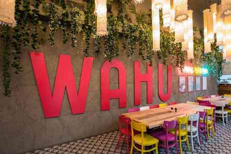 Wahu - Sharing platter for 2 people including a bottle of Prosecco to share  - Save 62%