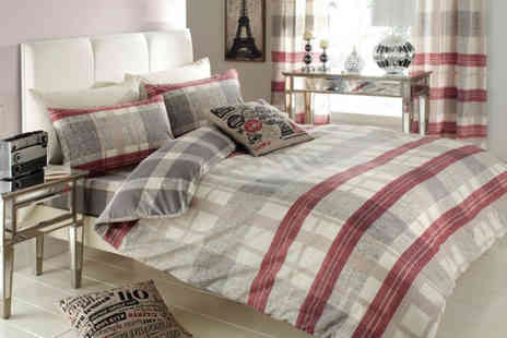 Your Essential Store - Double or king size Venezia bedding set  - Save 76%