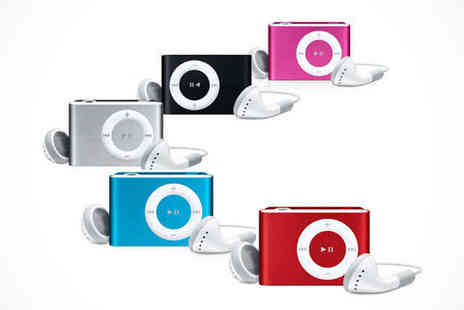 Shuffling MP3 Player - Shuffling MP3 Player in a Choice of Colour - Save 79%