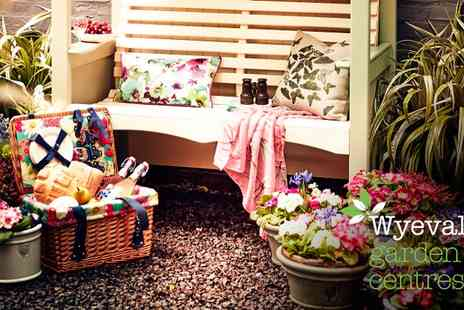 Wyevale Garden Centres - £20 to Spend In-Store - Save 40%