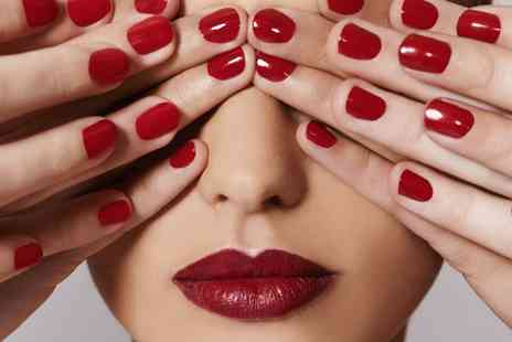 Simply Beautiful Hair and Beauty - Manicure or Pedicure With Gel Polish - Save 87%