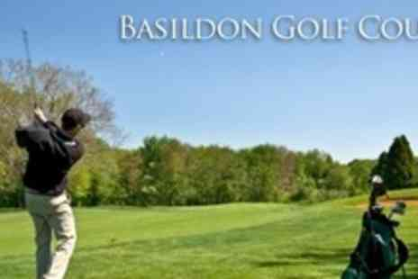 Basildon Golf Course - Two Rounds of Golf Plus Bacon Roll For Four - Save 84%