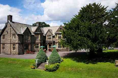 Maes Manor Hotel - One or Three Nights For Two With Breakfast, Wine and Dinner - Save 31%