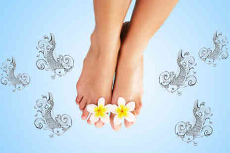 It's Tantastic - £9 for a 30 minute Garra Rufa fish pedicure and foot scrub worth £30 - Save 70%