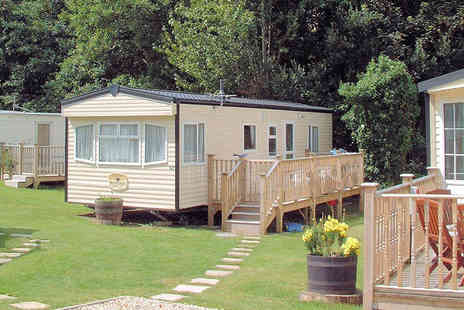 Hele Valley Holiday Park - Three night Devon stay in a luxury 4 or 6 berth caravan - Save 48%