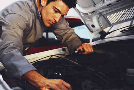 John Saint Automotive - MOT Test 59 Point Car Service, or Both with Air Con Recharge - Save 30%