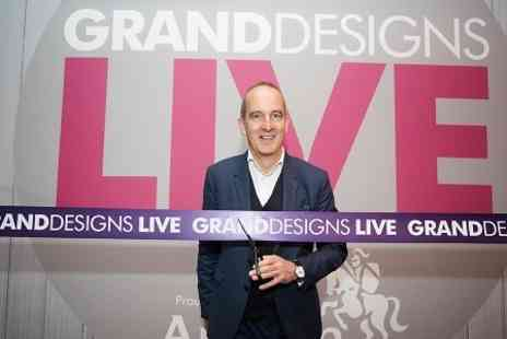 Grand Designs Live - Two Tickets to Grand Designs Live - Save 33%