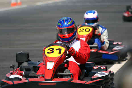 Whilton Mill Go Karts - 30 Laps of Exciting Outdoor Go Karting - Save 38%