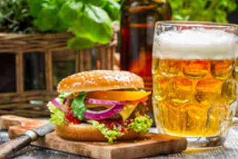 56 North - Gourmet Burgers with a Craft Beer or a Bellini Cocktail for Two - Save 53%
