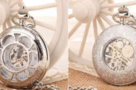 Hulbury - Mechanical pocket watch  plus delivery - Save 0%