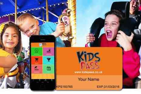 Kids Pass -  12 month family discount card for over 200 attractions - Save 0%