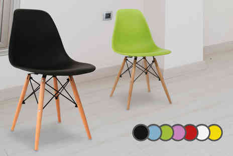 DIRECT FURNITURE SUPPLIERS  - Set of 4 retro chairs - Save 50%