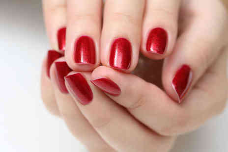 Saasha Hair and Beauty - Shellac Manicure, Facial - Save 37%