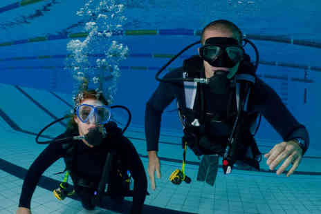 Hidden Depths Scuba School - Two Hour Discover Scuba Session for One   - Save 52%