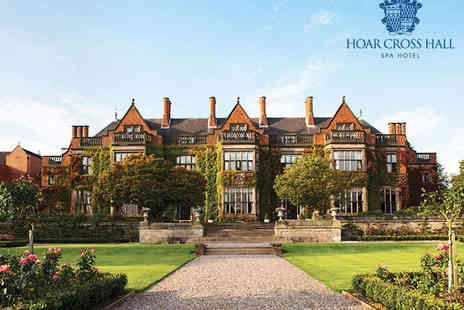 Hoar Cross Hall Spa Hotel - Spa Day with Three Course Lunch for One   - Save 0%