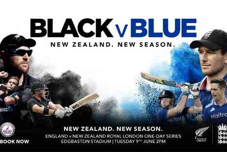 England Cricket ODI - One Adult or Child Cricket Ticket to England v New Zealand ODI - Save 83%