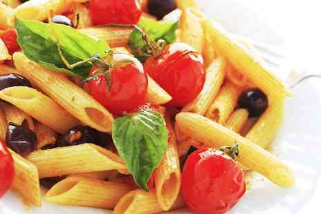 We Love Italy - Pasta, Crepe and Drink For Two  - Save 50%
