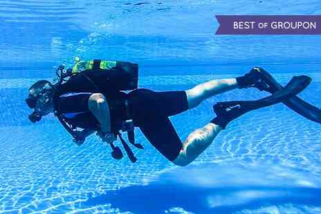 Robin Hood Watersports - PADI Discover Scuba Diving Experience or Referral Course With Log Book  - Save 68%