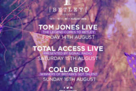 Cuffe & Taylor Touring - Total Access Live at Betley Court Farm with Professor Green and Union J - Save 0%