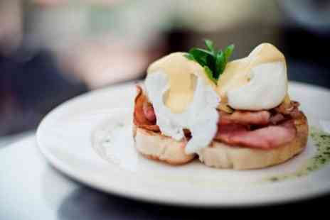 Olives at the Station - Eggs Benedict Plus Hot Drink For Two  - Save 55%