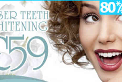 Sparkle Teeth Whitening - A dazzling deal  Three Sparkle Teeth Whitening Sessions - Save 80%