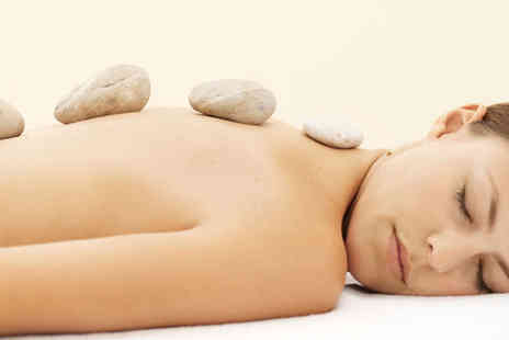 Beauty Beehive - Hot Stone Massage with Mini Facial - Save 70%