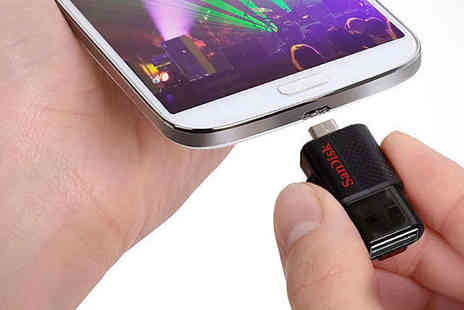 MyMemory - SanDisk Dual USB and Android Connector 16GB Flash Drive, Delivery Included - Save 20%