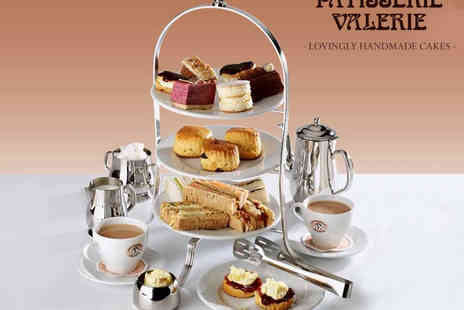Patisserie Valerie - Afternoon Tea for Two  - Save 27%