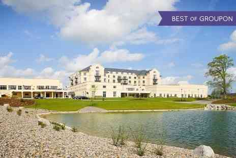 Knightsbrook Hotel - One or Two Nights stay For two With Breakfast, Dinner, Spa or Golf - Save 50%