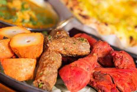 Chillibite Bar and Grill - Indian Cuisine Two Courses With Wine and Naan For Two  - Save 58%