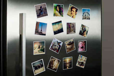 Eight Personalised Magnets - Eight Personalised Fridge Magnets, Delivery Included - Save 25%