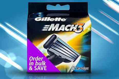 NiftySpot - Gillette Mach3 Replacement Razor Blades - Save 65%