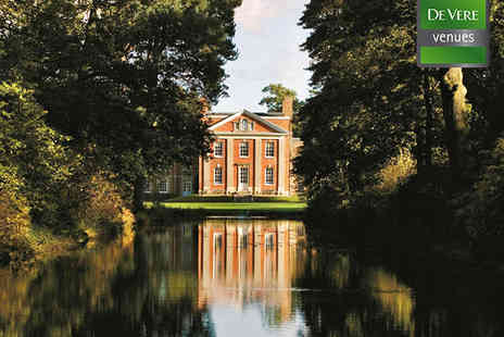 De Vere Venues Warbrook House - One Night  Stay for Two People with Full English Breakfast Daily - Save 43%