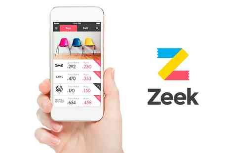zeek - High Street Gift Cards £20 Credit  - Save 63%