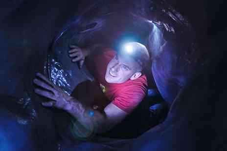 The Pinnacle Climbing Centre - Indoor Caving Experience  - Save 50%