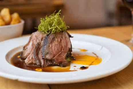 No4 Clifton Village - 8oz organic steak and wine for two   - Save 0%